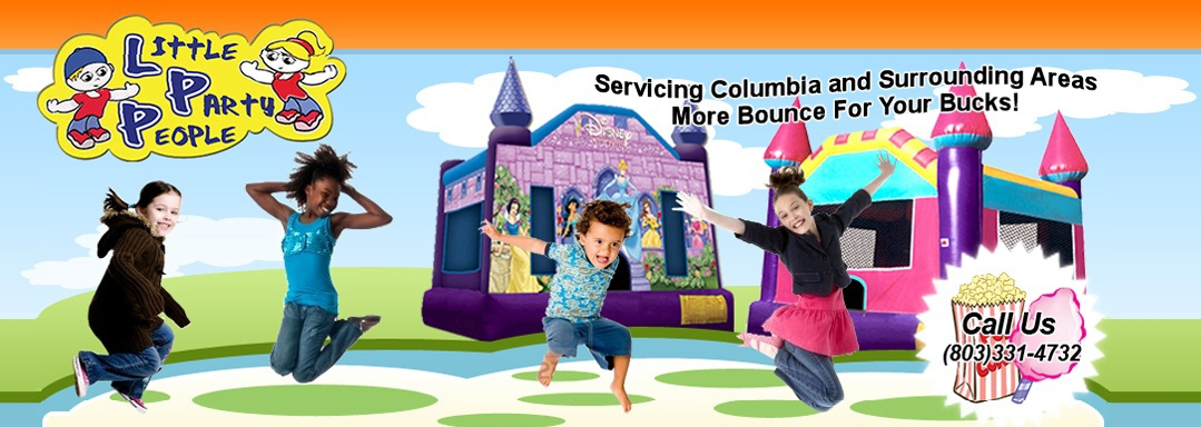 Party Rentals Inflatable Bounce House In Columbia Sc Little